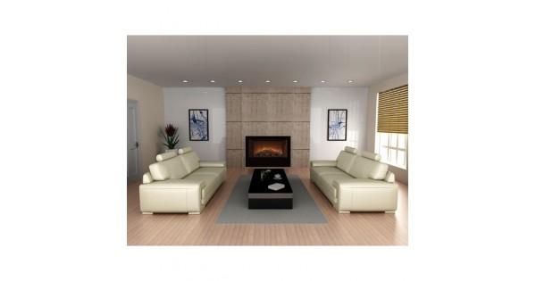Modern flames home fire 42 39 39 for Modern house 42