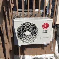 LG ductless heat pump