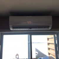 Ductless heat pump indoor unit