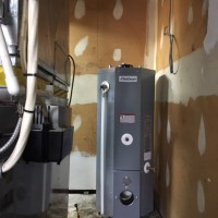 OIL WATER HEATER