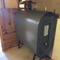 STANDARD OIL TANK 150 GALLONS